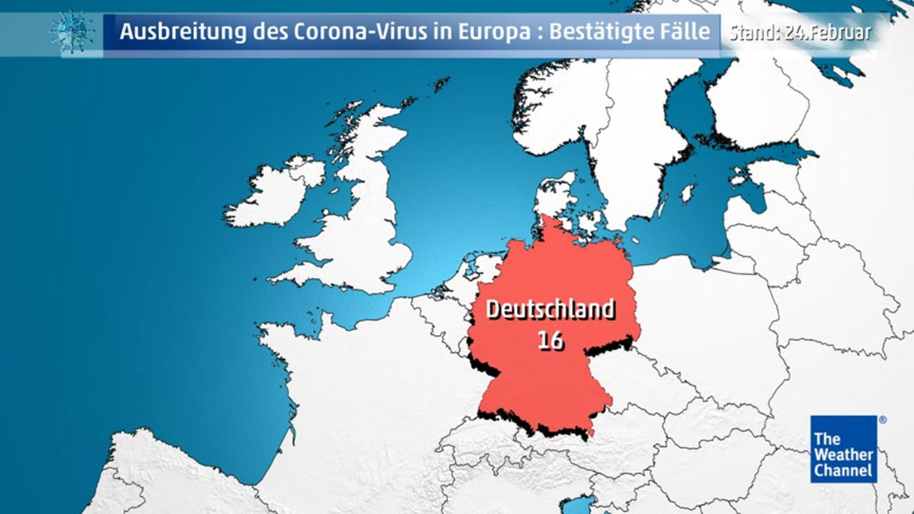 Coronavirus Ausbreitung Karte