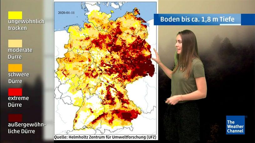 Extreme Dürre ist wieder zurückgekehrt