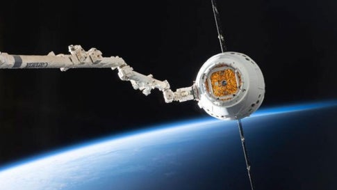 Space X Satelliten
