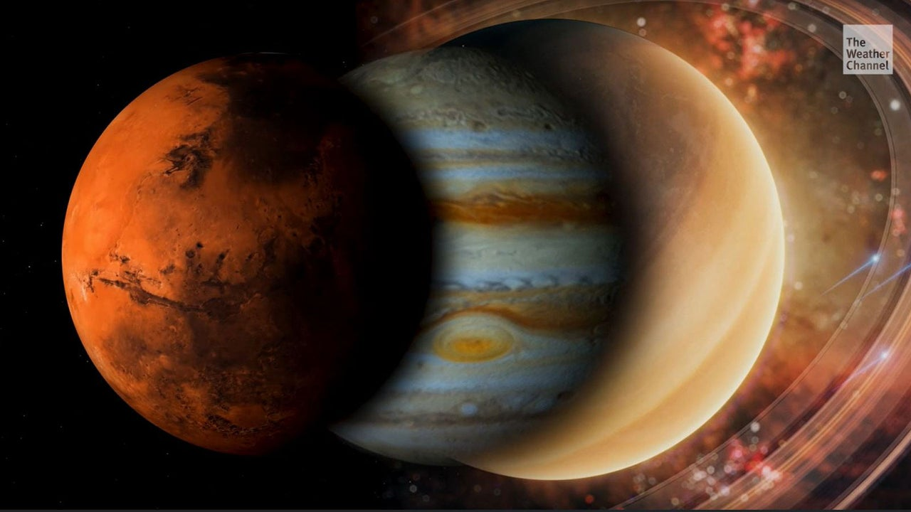 Mars, Jupiter und Saturn werden morgen früh am Himmel auftauchen. Es gibt einen Grund, weshalb die Planeten so gut sichtbar sein werden.