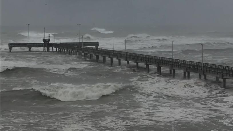 Hanna Slams Texas With Strong Winds and Heavy Rain