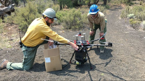 Why Firefighters Are Using Drones to Set Fires in Arizona