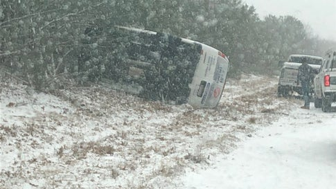 Winter Storm Maya Causes Icy Roads, School Closings in the