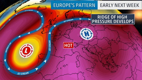 Europe Awaits Record-Smashing June Heat Wave