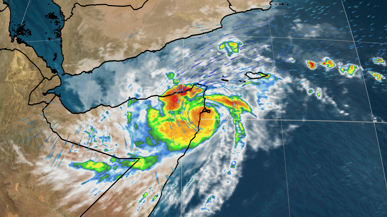 Gati is the first hurricane-strength system to hit Somalia in recorded history.