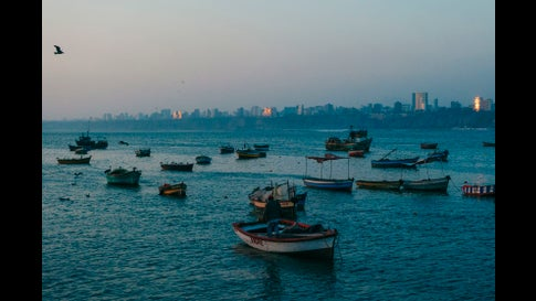 A fishing port off the coast of Lima, Peru. (Getty Images)