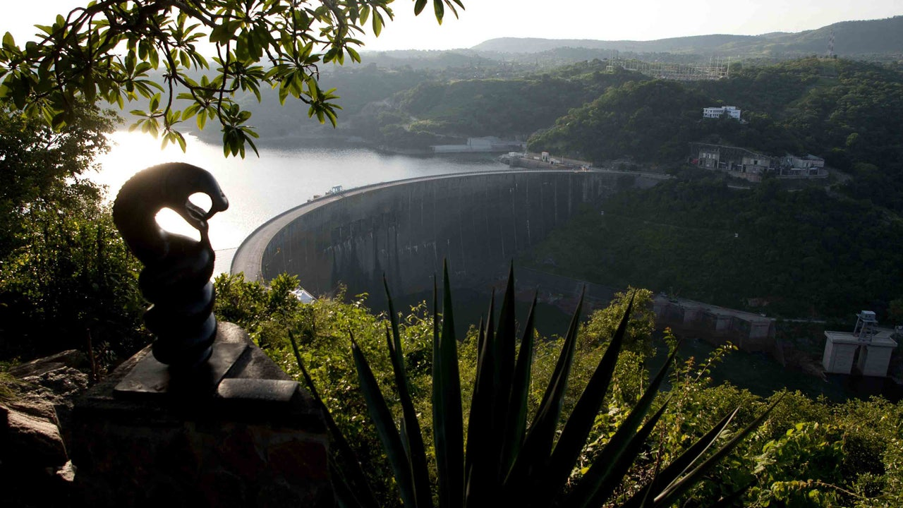 A critical water reservoir in Africa is drying up.