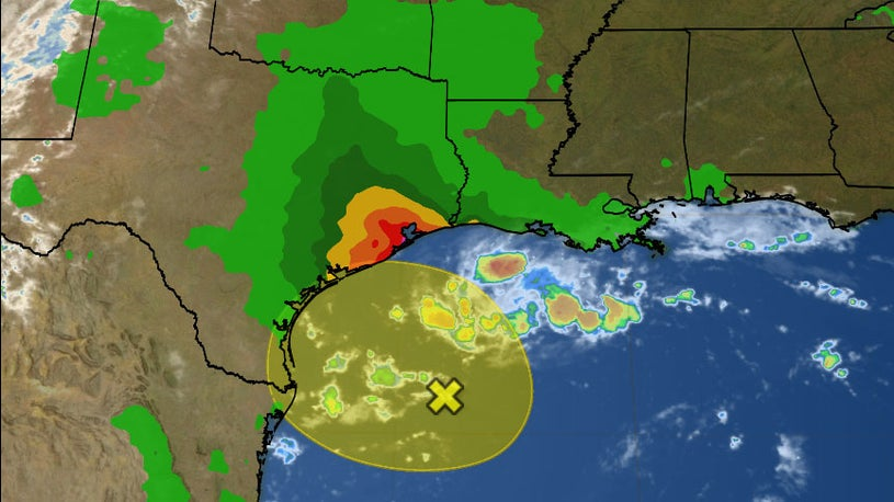 Gulf Disturbance to Bring Heavy Rain to Parts of Texas