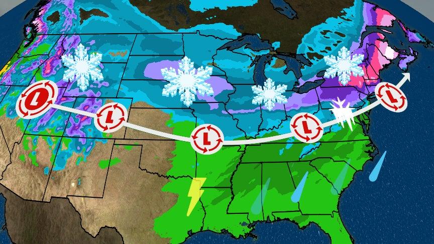 Winter Storm Harper: Who Should Brace for Heaviest Snow