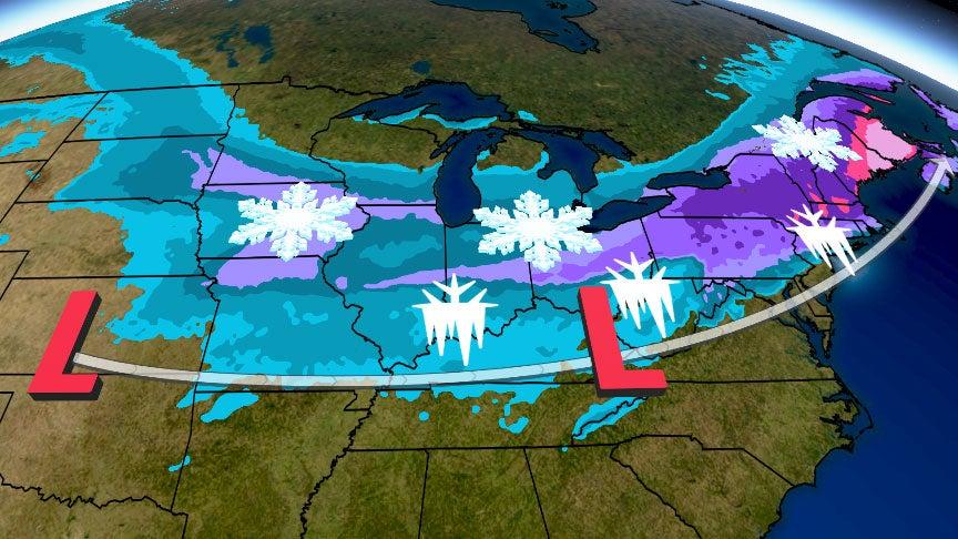 Tormenta Invernal Harpe, será una gran tormenta de nieve el viernes y fin de semana
