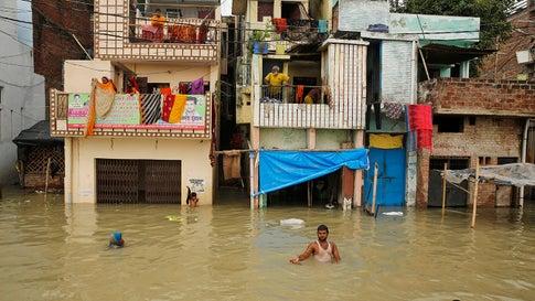India's Monsoon Season Has Left More Than 1,000 People Dead
