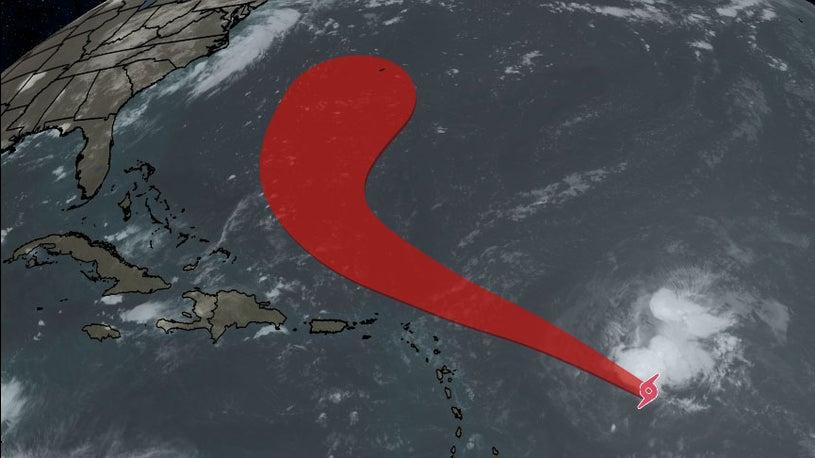 Tropical Storm Josephine Latest