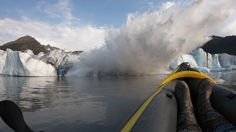 Alaska Glacier Bridge Collapses In Front of Kayakers