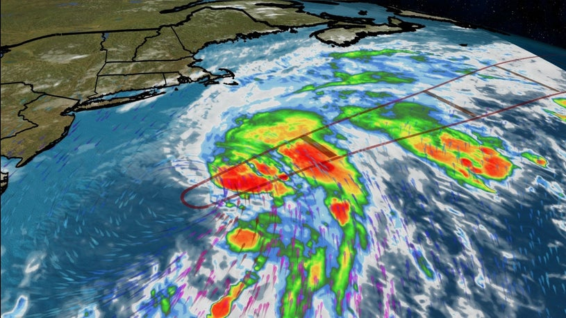 Tropical Storm Kyle Forms in the Atlantic