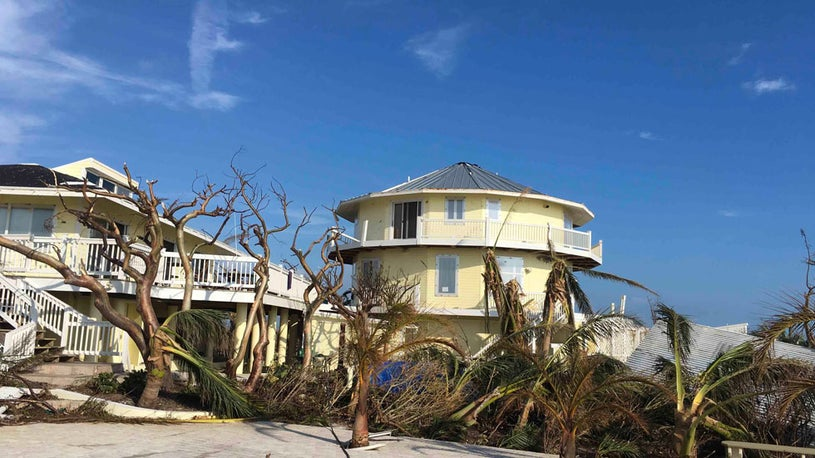 Man Rides Out Dorian in Hurricane-Proof Home