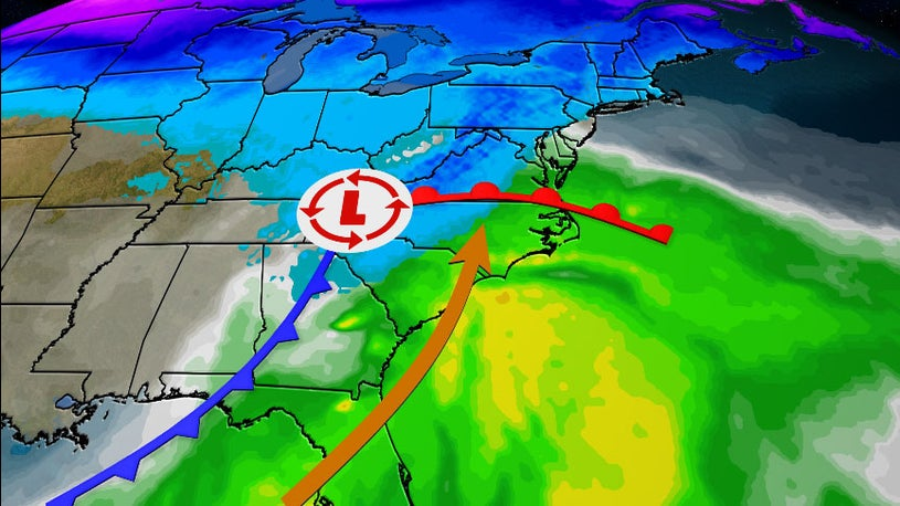 Late-Week Storm Will Be More Wet Than Wintry
