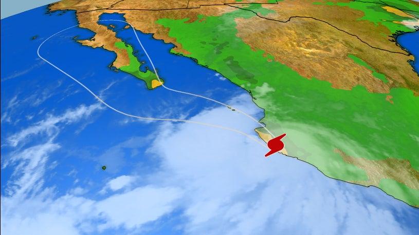Lorena Poses Flood Threat for Southwest Next Week