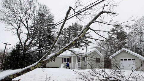Weather For Christmas 2020 In Maine Potent Maine Snowstorm Knocks Out Power to Thousands Who Could Be