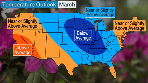 Big Changes to March 2020 Temperature Outlook Thanks to Unexpected Pattern Change