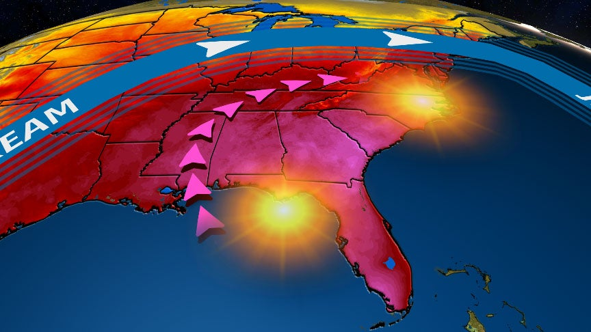 Possible Record Heat for Holiday Weekend in Southeast