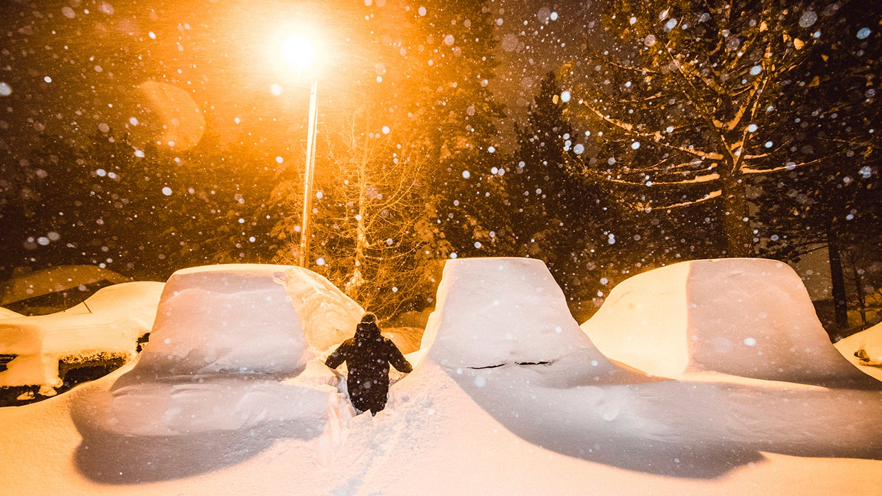 Six Feet of Snow in 24 Hours Fell in California