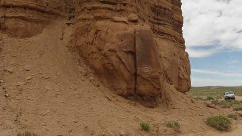 vandals deface monolith in utah s capitol reef national park the weather channel articles from the weather channel weather com capitol reef national park