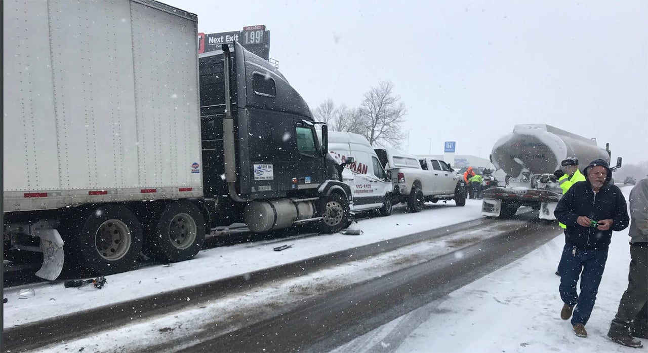 Winter Storm Nadia Impacts Felt from West Coast to Midwest