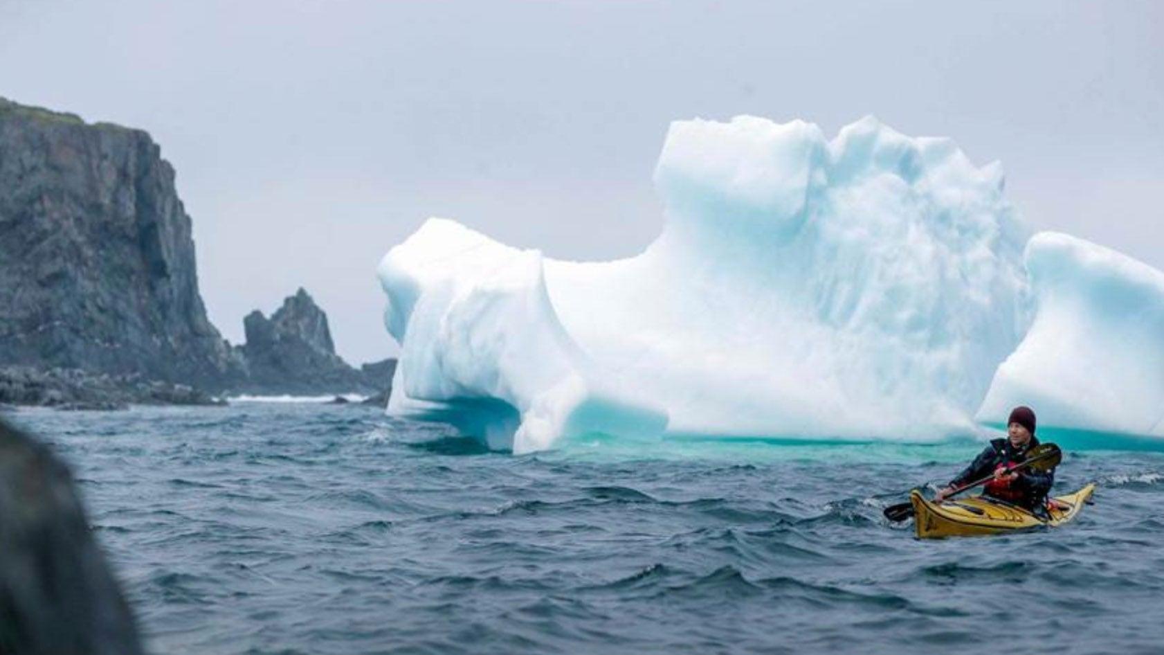 Giant Icebergs Float Through Canada's 'Iceberg Alley'