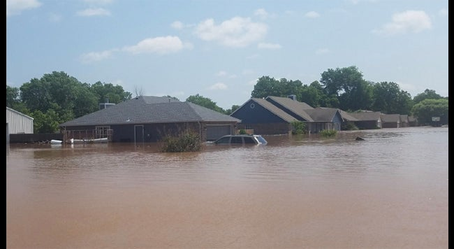 Midwest, Plains Residents Ordered from Homes as Rivers Hit