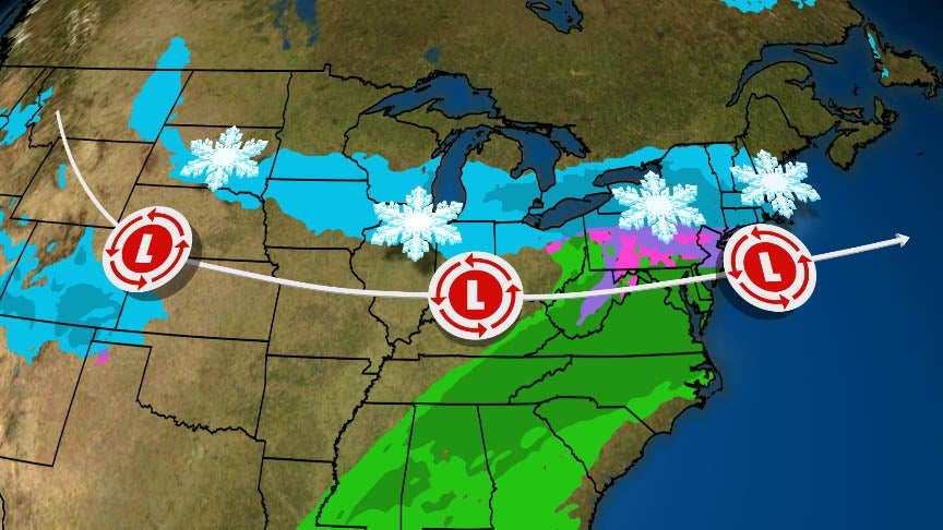 Winter Storm Oren to Bring Snow to Northeast