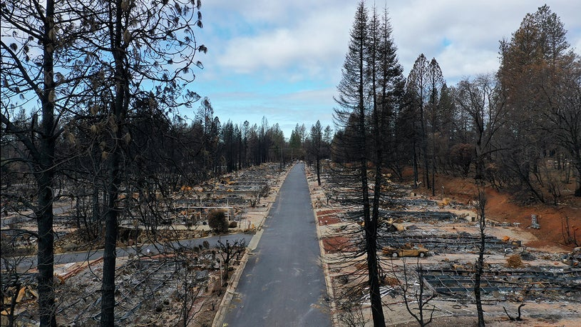 California Wildfires Burn Out of Control: Camp Fire Destroys