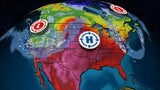 Weekend Pattern Change Brings Temperature Swing from Coast to Coast