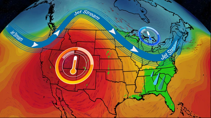 Pattern Shift Brings Heat to the West, Unsettled East