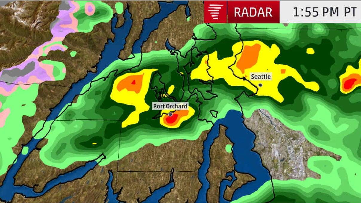 Tornado Hits Port Orchard, Washington: 'It's just bad. It's really bad.'