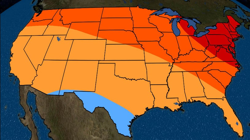 April Temperature Outlook: Warm in the North and East, Near Average ...
