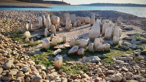 Drought Reveals 'Spanish Stonehenge' That Has Been Submerged Since the 1960s