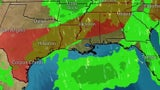 Stormy Pattern to Continue from Southern Plains to Southeast
