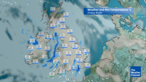 Five-day forecast: Outlook for the weekend and beyond   The Weather