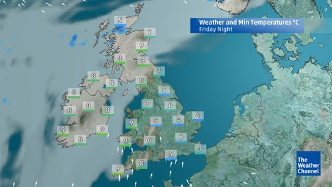 Five-day forecast: Outlook for the weekend and beyond | The Weather ...