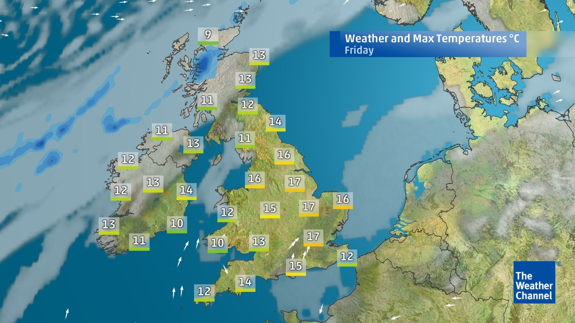 Five-day forecast: dry and sunny end of week