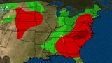 Severe and Flooding Rain for Mid-Atlantic