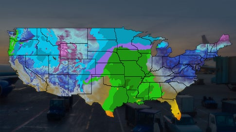 Christmas Travel Weather Forecast Travel Disruptions Likely After