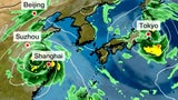 Two Tropical Systems in Western Pacific