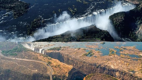 Africa S Victoria Falls Threatened By Drought Tourism