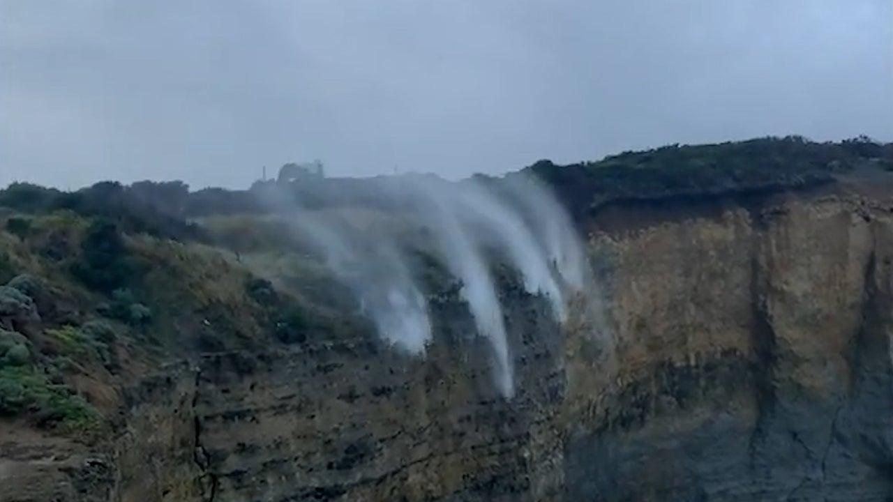 Watch Waterfall Flow in Reverse
