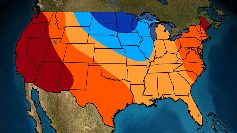 The Temperature Outlook for September
