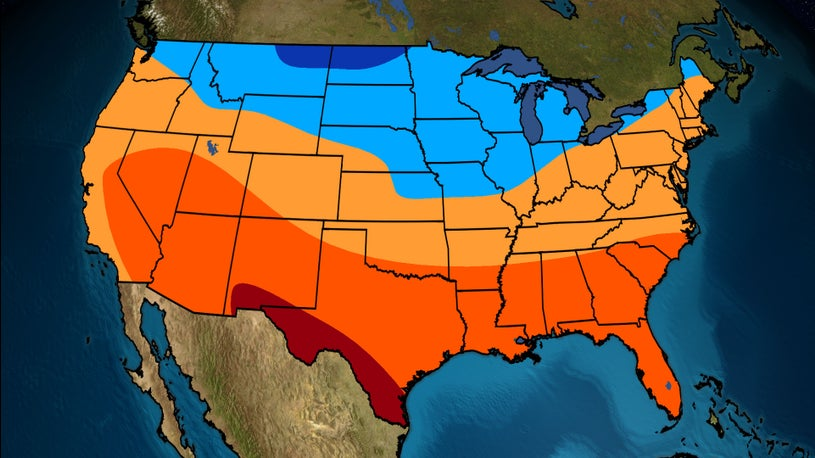 Winter Outlook: Warmer, Drier Across the South