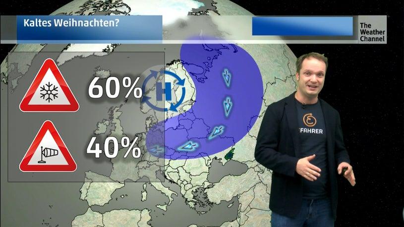 Neue Wetter-Prognosen: es kann kalt werden zu Weihnachten