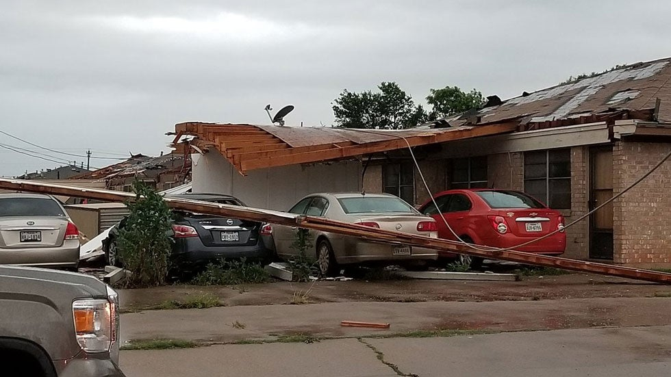 Tornadoes and severe storms cause heavy damage as they rip across multiple states.