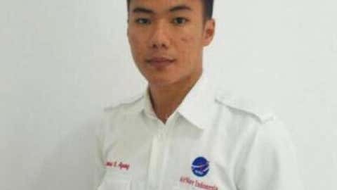 Anthonius Gunawan Agung, 21, was on duty in Mutiara SIS Al-Jufrie Airport in Palu when the earthquake struck Palu. (AirNav Indonesia)